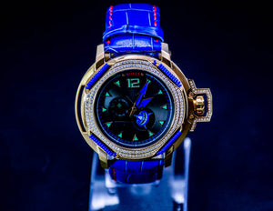 Nitron Electric Dream with Swarovski/ Blue