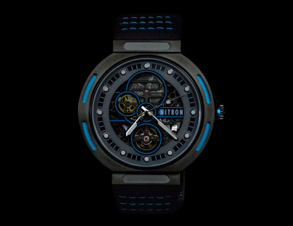 Nitron Skelette Black / Blue