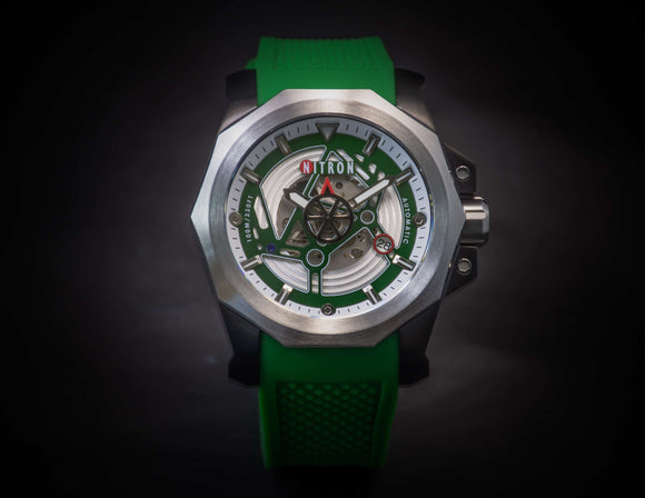 Nitron Circuit Stainless Steel / Green