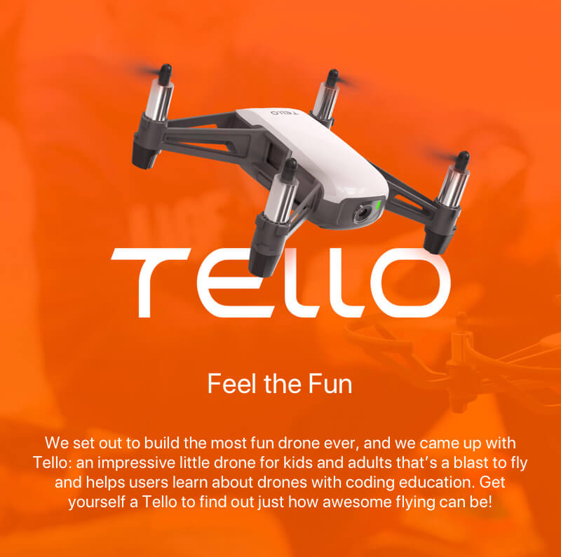 Ryze Tello Drone by DJI