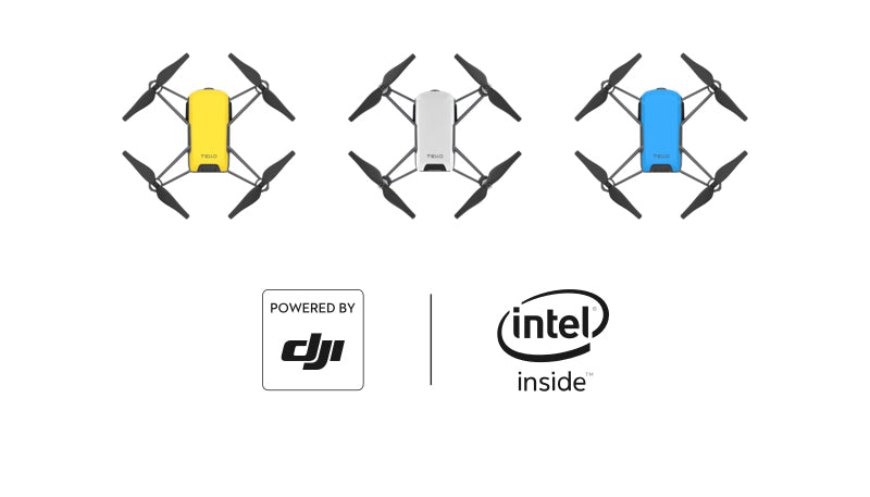 Ryze Tello with DJI and Intel Parts