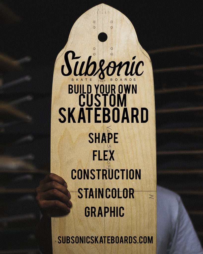New Custom Skateboard Builder