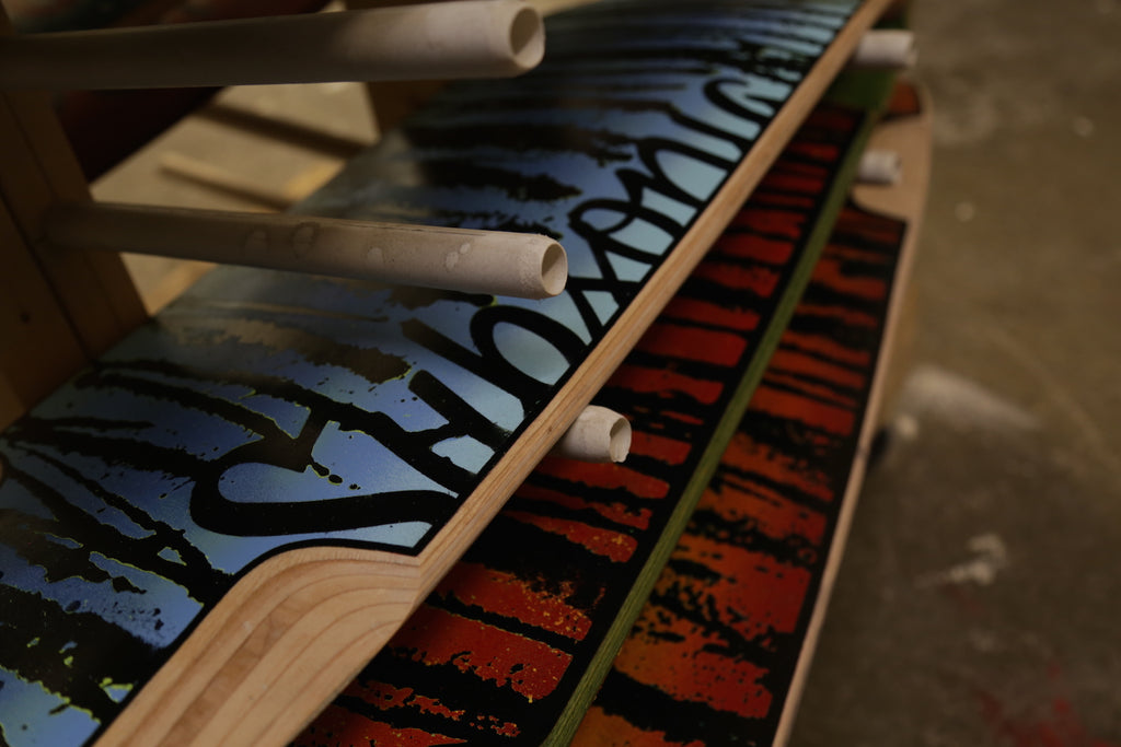 Subsonic/TURNco Collaboration Longboards