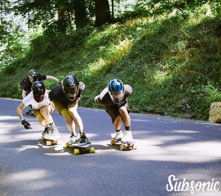 Mount Tabor Downhill Challenge 2016 Recap - Subsonic Skateboards