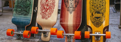Subsonic Skateboards longboard completes