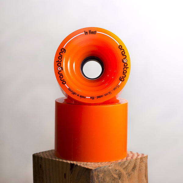 Orangatang In Heat 75mm Wheels (2 wheels)