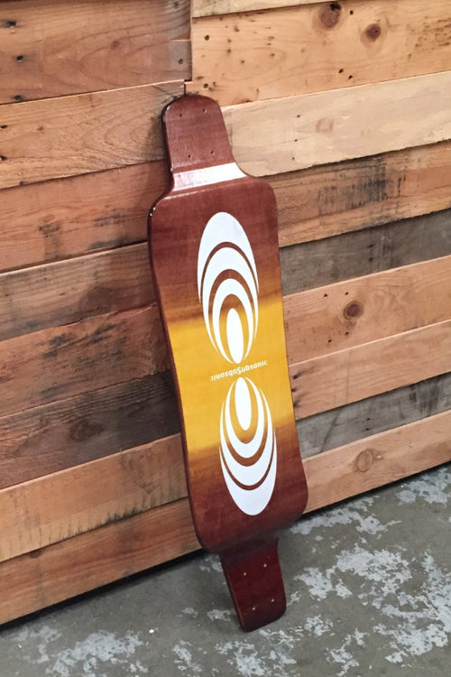 Subsonic Skateboards Century 36 One-of-a-Kind longboard bottom