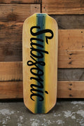 Subsonic Skateboards Illuminati longboard bottom