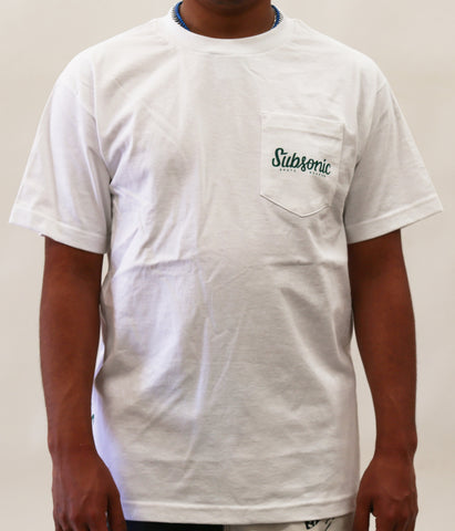 Squad Pocket Tee - White