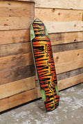 Subsonic Skateboards TURNco collaboration Shadow 37 longboard bottom
