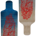 Subsonic Skateboards Talon longboard close-up