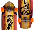 Subsonic Skateboards Shadow longboard complete