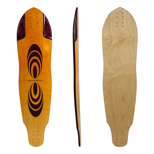 Pulse 40 Longboard Deck or Complete