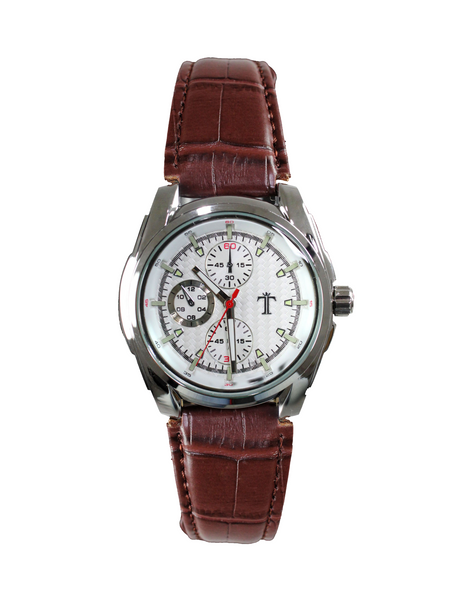 Torque Watch in Brown