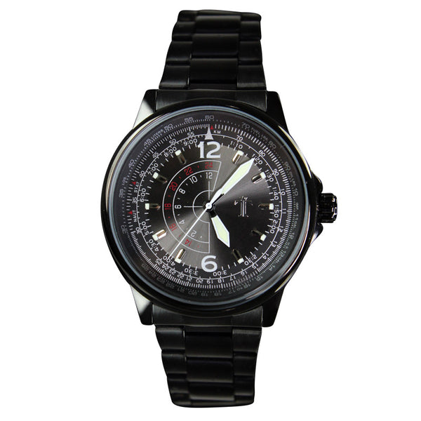The Trooper Watch in Black