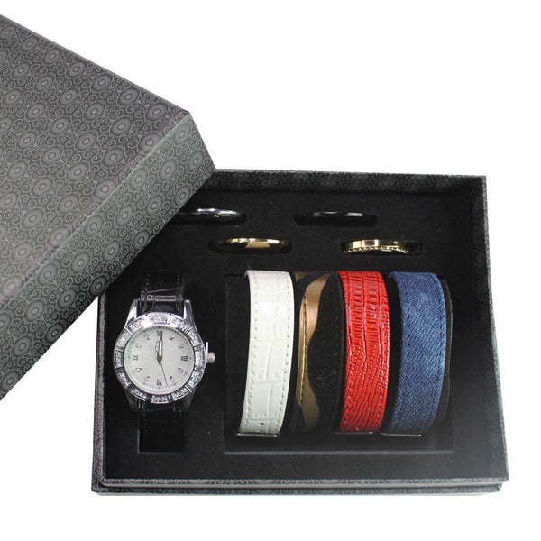 5pc Strap and Ring Set - Multicolor