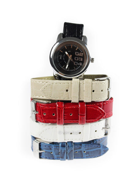 The Dusk 5 pc. Interchangeable Strap Watch