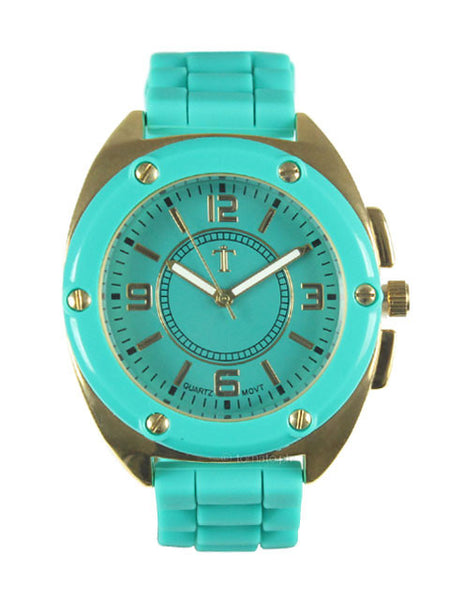 Takumi Watch in Cyan