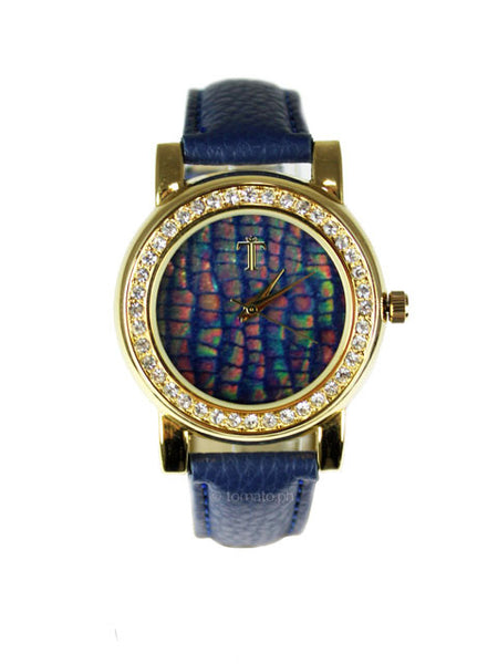 Cady Watch in Navy