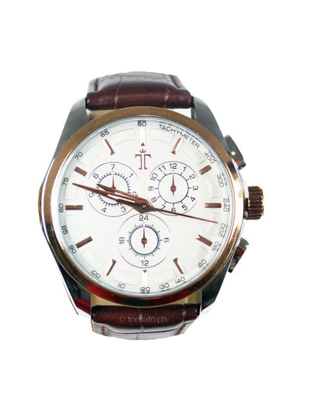 Thurston Watch in Brown