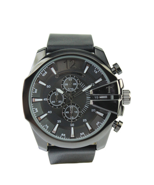 Ezra Watch in Black