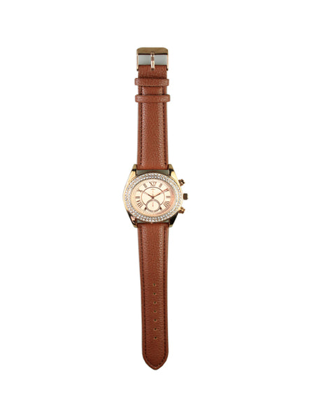 Tammie Watch in Brown