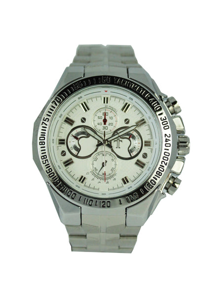 Aaron Watch in White