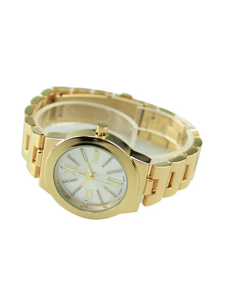 Alicia Watch in Gold