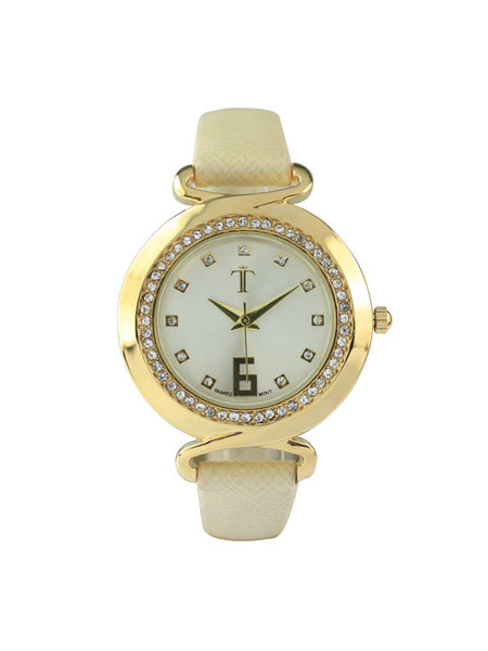 Ava Watch in Beige