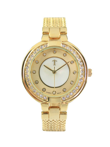 Azalea Watch in Gold