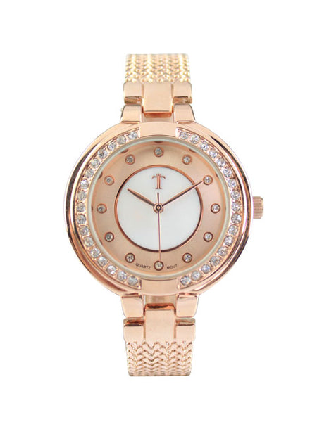 Azalea Watch in Rose Gold