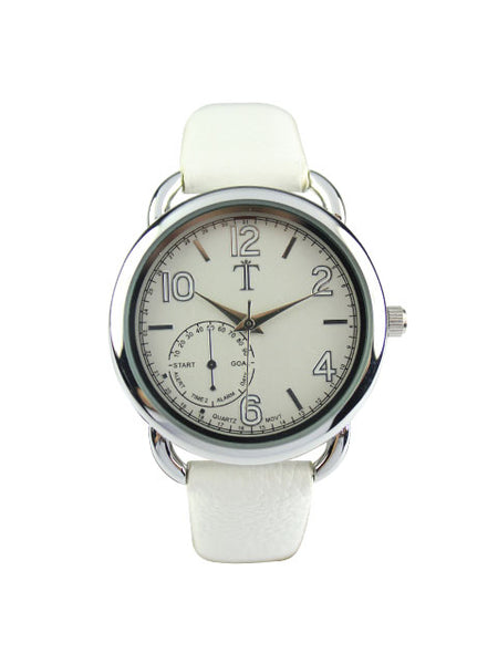 Blossom Watch in White