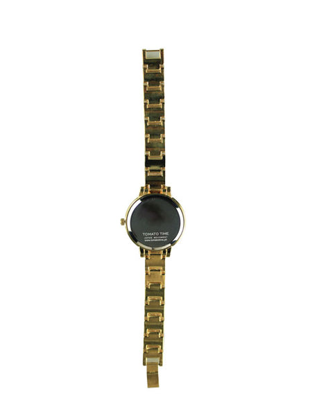 Camellia Watch in Gold