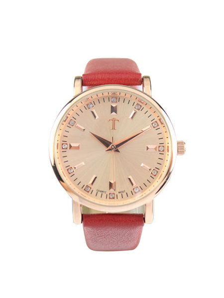 Daisy Watch in Red