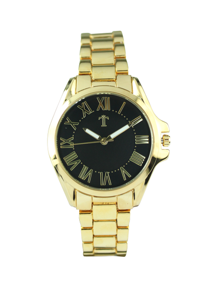 Hillary Watch in Gold