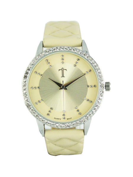 Lucy Watch in Beige