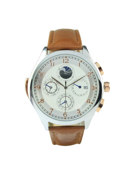 Milan Watch in Brown