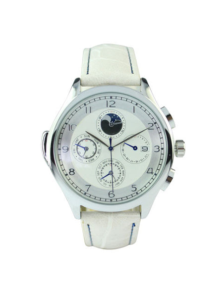 Milan Watch in White