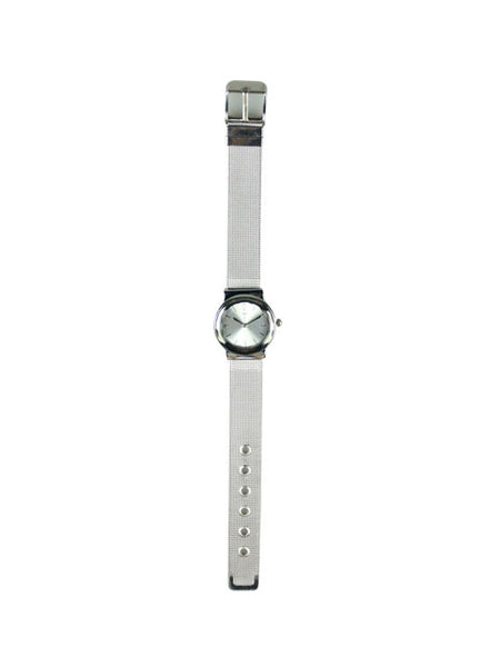 Petunia Watch in Silver