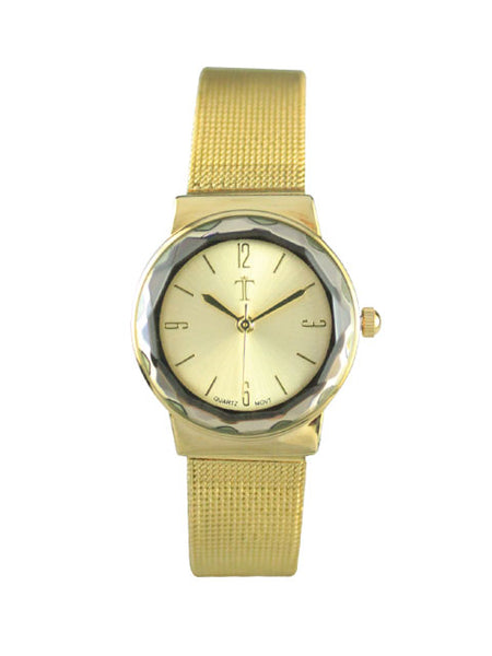 Petunia Watch in Gold