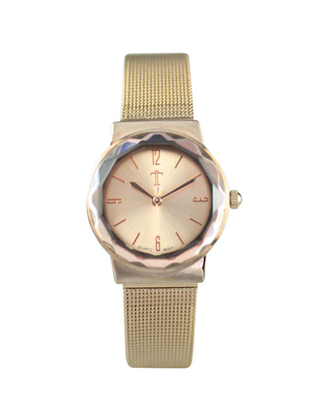Petunia Watch in Rose Gold