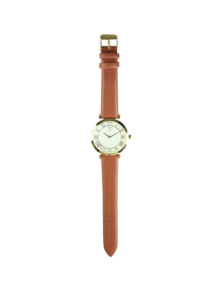 Rose Watch in Camel