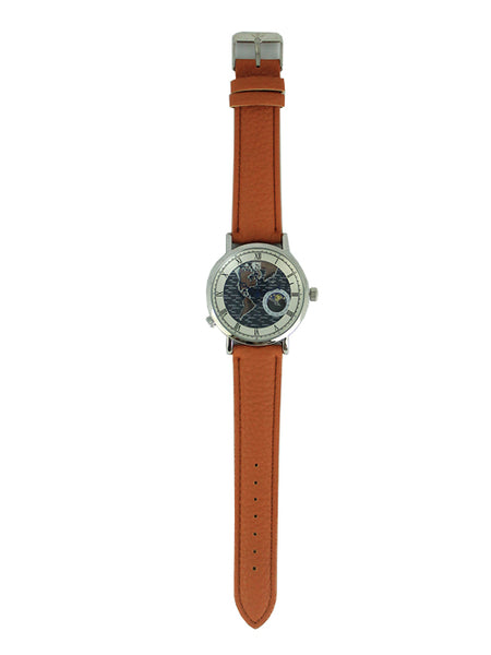 London Watch in Brown