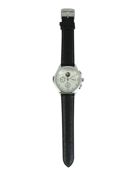 Milan Watch in Black for Men