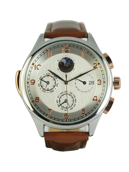 Milan Watch in Brown for Men