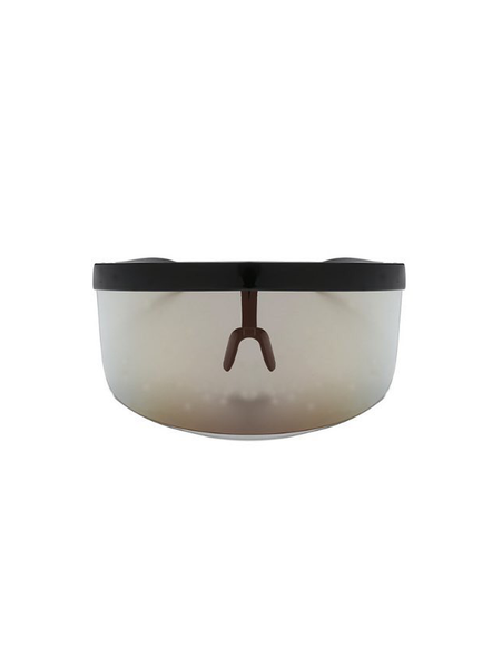 Veezor Anti-virus Visor in Black Gold