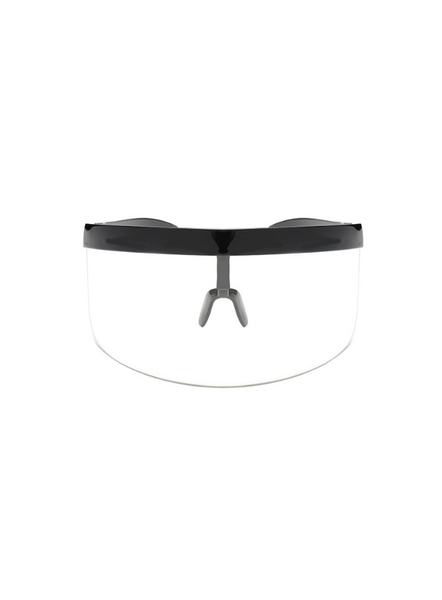 Veezor anti-virus visor in Clear Black