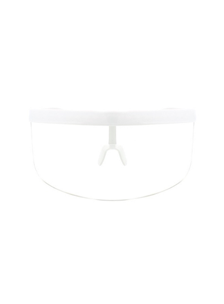 Veezor anti-virus visor in Clear White