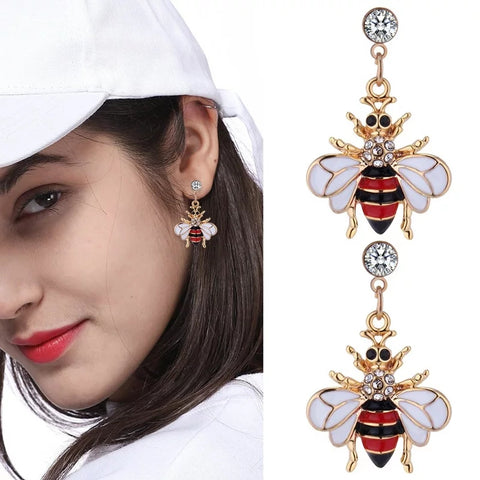 Watch Bling Earrings