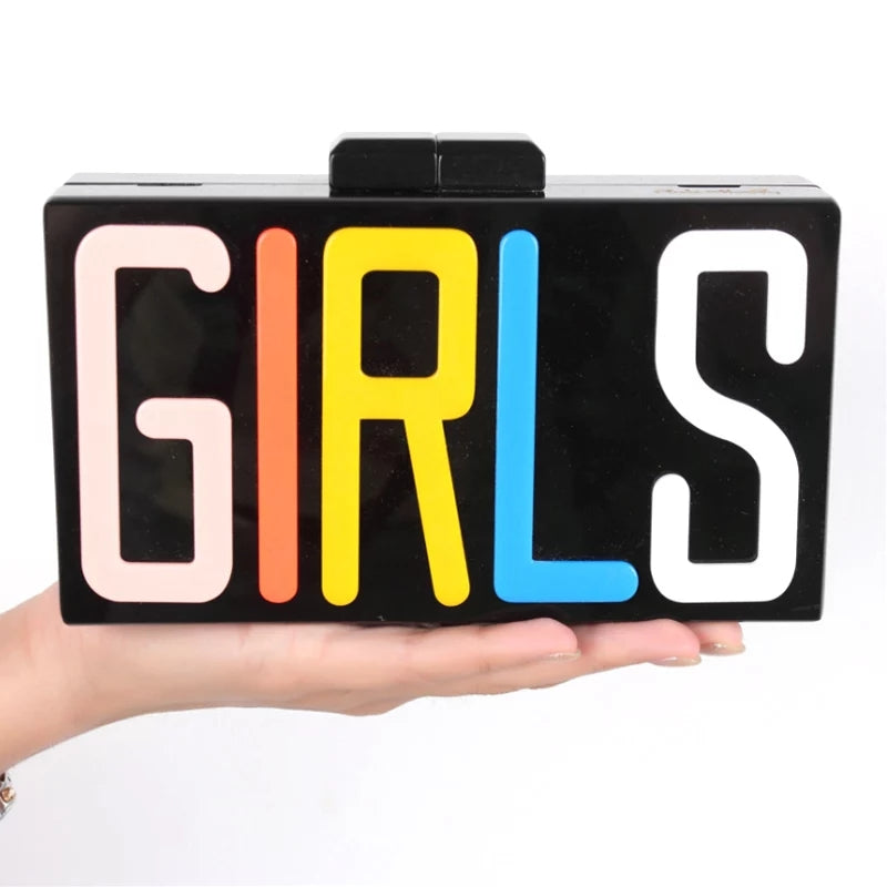 GIRLS Multicolor Clutch